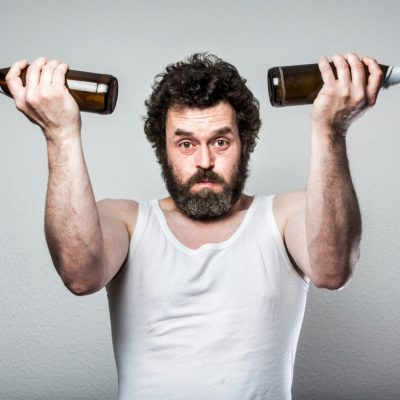 Weightlifting Bearded Beer Man, Sportive